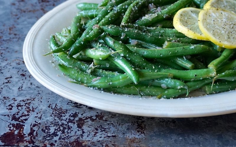 Lemon-Thyme Green Beans By rebecca gordon buttermilk lipstick southern hostess cooking lessons editor-in-chief tailgating cooking entertaining brand pastry chef writer tv cooking personality photographer editorial director fox 6 contributor birmingham alabama
