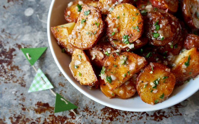 Game Day Entertaining Bourbon-Mustard Roasted Potato Salad By Rebecca Gordon Buttermilk Lipstick Southern Tailgating Expert Tv Cooking Personality Editor In Chief Southern Tailgating Cooking & Entertaining Brand Pastry Chef Photographer Writer Food Stylist Author Original recipes party ideas & Crafts WBRC Fox 6 Contributor Birmingham Alabama
