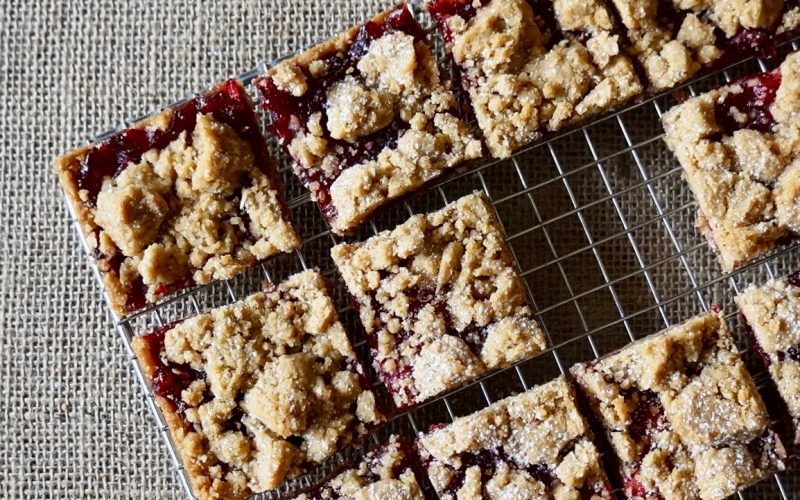 Baking Tutorials: Cranberry-Oat Bars By Rebecca Gordon Editor-In-Chief Buttermilk Lipstick Culinary & Entertaining Brand Baking & Cooking Tutorials Practical Culinary Techniques For Everyday Cooks Editorial Director Digital Culinary Photo Journalist Pastry Chef Writer Photographer Food Stylist Southern Hostess TV Cooking Personality Game Day Entertaining Modern Southern Socials