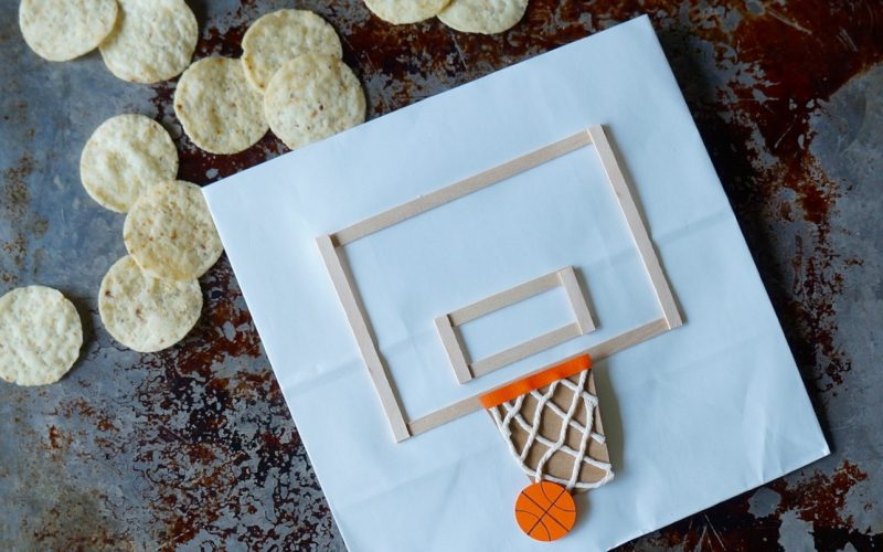Basketball Backboard Entertaining Bags By Rebecca Gordon Buttermilk Lipstick TV Cooking Personality Basketball Party Entertaining Sports Entertaining Tailgating & Football Expert Tide & Tigers Today Game Day Tailgate Host Chef Author March Madness