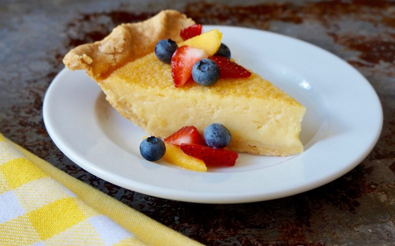 Honey-Orange Buttermilk Pie By Rebecca Gordon TV Cooking Personality Editor-in-Chief Buttermilk Lipstick Birmingham Alabama Food Stylist Southern Hostess Pastry Chef Writer Author Sports Entertaining Tailgating Expert Tide & Tigers Today Tailgate Host Raycom News Network WBRC Fox 6 Cooking Lessons Summer Entertaining Barbecue Pies