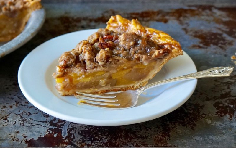 Crowning Jewel Bourbon-Pecan Peach Pie By Rebecca Gordon Buttermilk Lipstick TV Cooking Personality Editor-in-Chief Southern Lifestyle Tailgating & Cooking Brand Southern Game Day Hostess Birmingham Alabama Tide & Tigers Today Tailgate Host WBRC Fox 6 Raycom Media