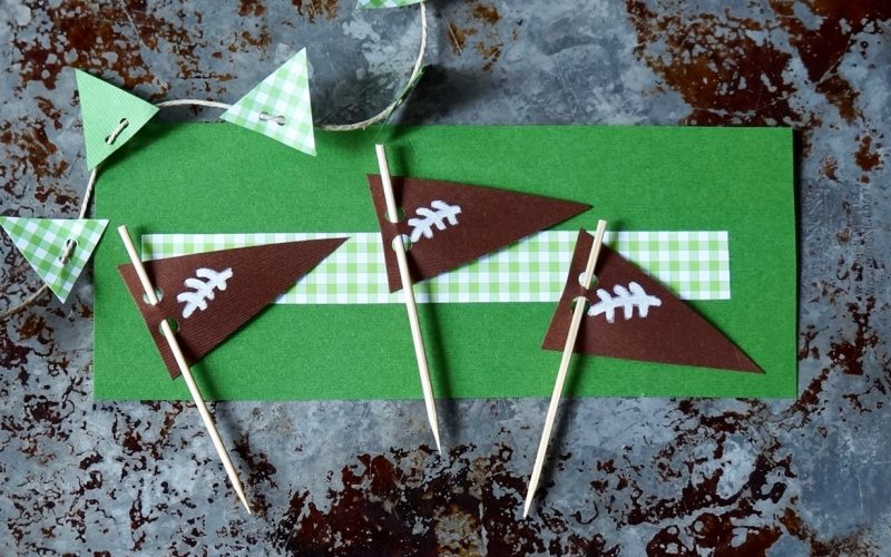 Game Day Entertaining: Football Pennants By Rebecca Gordon Buttermilk Lipstick TV Cooking Personality Editor-in-Chief Pastry Chef Tailgating Expert Southern Game Day Hostess Sports Entertaining Tide & Tigers Today Tailgate Host Birmingham Alabama WBRC Fox 6
