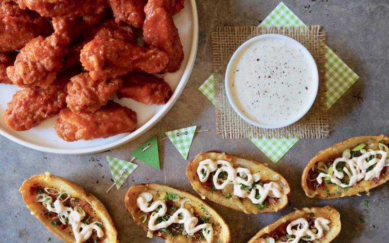 Game Day Entertaining. Bloody Mary Buffalo Hot Wings By Rebecca Gordon Editor-In-Chief Buttermilk Lipstick Tailgating Recipes Loaded Potato Skins. Fan-Favorite Tailgating Recipes Football Party Snacks Gameday Entertaining Ideas Tailgate Menu Appetizers Fried Chicken Bloody Mary Hot Wings