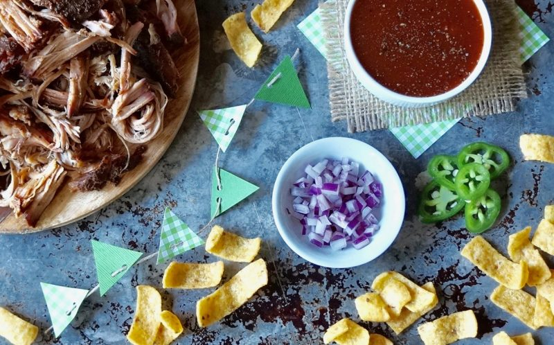 Game Day Tailgating BBQ Nachos By Rebecca Gordon Buttermilk Lipstick Southern Tailgating Expert Tv Cooking Personality Editor-In-Chief Southern Tailgating Cooking & lifestyle Brand Pastry Chef Writer Author Food Stylist WBRC Fox 6 Birmingham Alabama Contributor