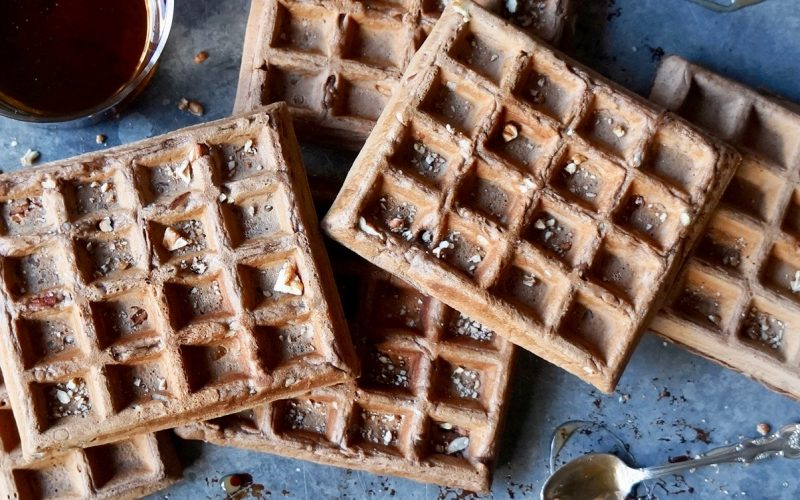 Cooking Tutorials. Chocolate-Pecan Waffles By Rebecca Gordon Editorial Director Digital Culinary Photo Journalist Buttermilk Lipstick Culinary & Entertaining Brand Practical Culinary Techniques For Everyday Cooks Cooking & Baking Tutorials Pastry Chef Writer Food Stylist TV Cooking Personality Modern Southern Socials Game Day & Holiday Entertaining