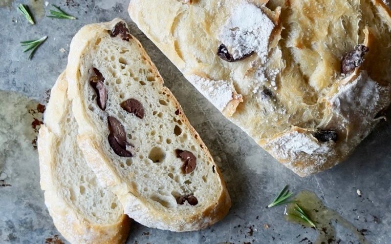 Baking Classics. Rustic Rosemary-Olive Boule By Rebecca Gordon Editor-In-Chief Buttermilk Lipstick Culinary & Entertaining Brand Cooking & baking Tutorials Digital Culinary Photo Journalist Editorial Director Pastry Chef Writer Food Stylist TV Cooking Personality How To Make Rosemary-Olive Boule Bread Loaf Yeast Bread Modern Southern Sicals & Recipes Game Day Entertaining