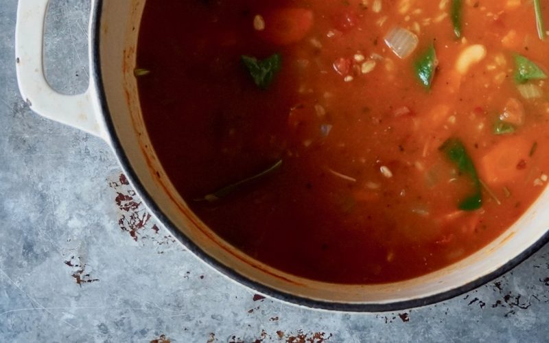 Cooking Classics. Farro Minestrone By Rebecca Gordon Editor-In-Chief Buttermilk Lipstick A culinary & Entertaining Brand Cooking & Baking Tutorials How To Cook Farro Editorial Director Digital Culinary Photo Journalist Pastry Chef Writer Food Stylist TV Cooking Personality Modern Southern Socials Game Day Entertaining