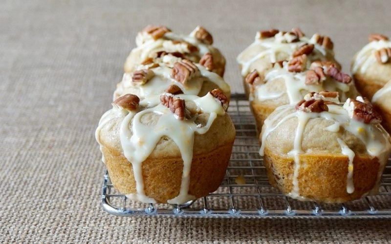Fresh Orange-Pecan Banana Muffins By Rebecca Gordon Editor-In-Chief Buttermilk Lipstick Culinary & Entertaining Brand Cooking & Baking Tutorials Practical Culinary Techniques For Everyday Cooks Digital Culinary Photo Journalist Editorial Director Pastry Chef Writer Food Stylist TV Cooking Personality Modern Southern Socials Game Day Entertaining