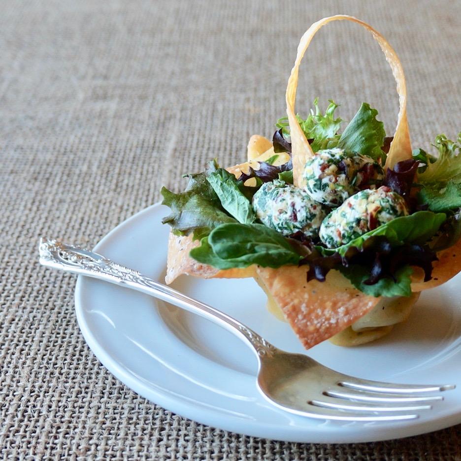 Spring Entertaining: Easter Basket Salads