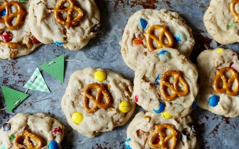 Game Day Tailgating: M&M-Peanut Butter-Pretzel Cookies By Rebecca Gordon Buttermilk Lipstick Editor-in-Chief Southern Lifestyle Tailgating, Cooking & Entertaining Brand Sports Entertaining Southern Tailgating Expert Tide & Tigers Today Tailgate Host WBRC Fox 6 Birmingham Alabama