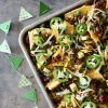 Southern-Tailgating-Recipes-Triple-Threat-Loaded-Nachos-By-Rebecca-Gordon-Editor-In-Chief-Buttermilk-Lipstick-Gameday-Entertaining-Southern-Hostess-Southern-Entertaining-Football-Party-Menu-RebeccaGordon-ButtermilkLipstick-Birmingham-Alabama-Tailgating-Party-Ideas-Menus-Game Day-Entertaining