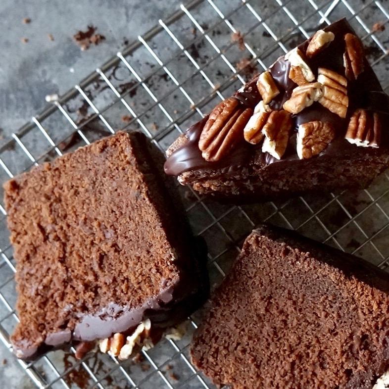Baking Classics Bourbon Pecan Chocolate Pound Cake Buttermilk