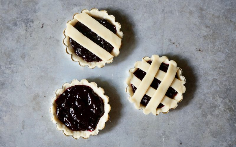 Lattice Cherry Tartlets By Rebecca Gordon Editor-In-Chief Buttermilk Lipstick Culinary Entertaining Techniques. Summer Tarts Galettes Cooking Baking Tutorials Publisher RebeccaGordon Pastry Chef Southern Hostess TV Cooking Personality Birmingham Alabama Southern Tailgating Recipes Spring Entertaining Southern Entertaining