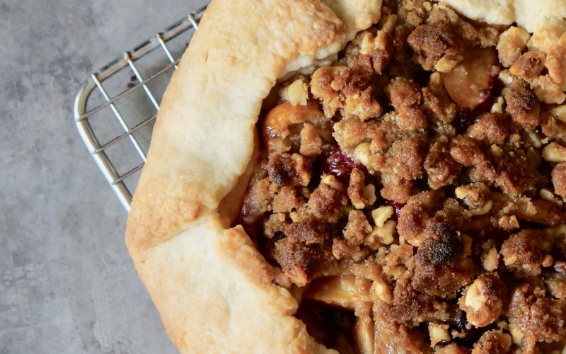 Walnut-Brown Sugar Stone Fruit Galette By Rebecca Gordon Editor-In-Chief Buttermilk Lipstick Culinary Entertaining Techniques Instructional Magazine Summer Galettes, Pies, Tarts Cooking Baking Tutorials Modern Southern Socials Game Day Entertaining RebeccaGordon Southern Hostess Pastry Chef TV Cooking Personality Birmingham Alabama