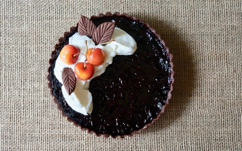 Black Forest Cherry Tart By Rebecca Gordon Editor In Chief Buttermilk Lipstick Culinary Entertaining Techniques. Summer Entertaining Cooking Baking Tutorials Modern Southern Socials Game Day Entertaining How To Make Cherry Tarts ButtermilkLipstick RebeccaGordon Southern Hostess Summer Parties Pastry Chef TV Cooking Personality Birmingham Alabama