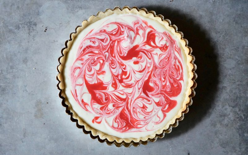 Raspberry Swirl Cheesecake Tart By Rebecca Gordon Editor In Chief Publisher Buttermilk Lipstick Culinary Entertaining Techniques. Southern Hostess