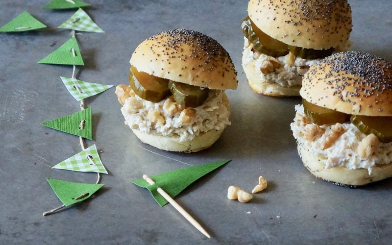Game Day Provisions. Chicken Salad Sliders By Rebecca Gordon Editor In Chief Buttermilk LIpstick Culinary Entertaining Techniques Modern Southern Socials RebeccaGordon Pastry Chef TV Cooking Personality Birmingham Alabama