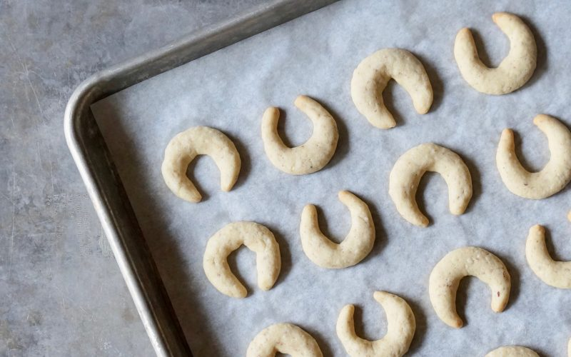 Vanillekipferl. Austria By Rebecca Gordon Editor-In-Chief Buttermilk Lipstick Culinary Entertaining Techniques. Christmas Cookies Baking Tutorials RebeccaGordon Pastry Chef Southern Hostess TV Cooking Personality Birmingham Alabama