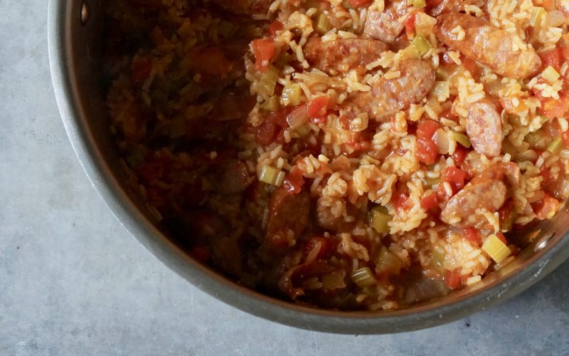 Classic-Sausage-Jambalaya-Rebecca-Gordon-Cooking-Class-Buttermilk-Lipstick-Culinary-Entertaining-Techniques-Southern-Entertaining-Southern-Hostess-TV-Cooking-Personality-Pastry-Chef-Birmingham-Alabama