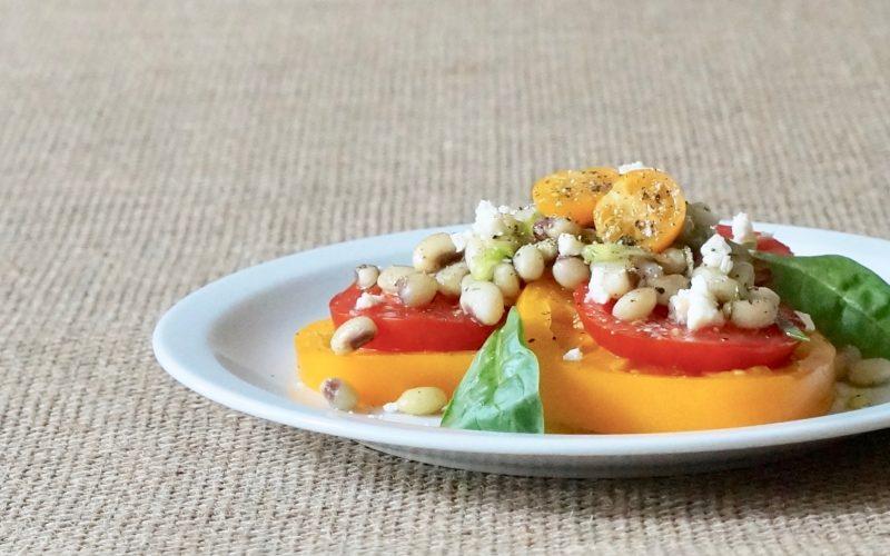 Lemon-Dill Tomato-Purple-Hull-Pea-Salad-Rebecca-Gordon-Buttermilk-Lipstick-Publisher-Garden-Recipes-Southern-Entertaining-RebeccaGordon-Chef-Southerner-Gardener-Birmingham-Alabama