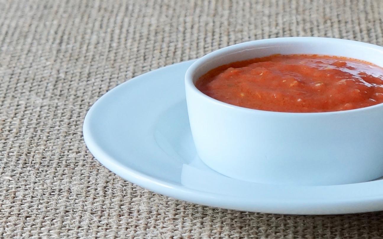 Fresh-Tomato-Garlic-Sauce-How-Do-You-Make-Chiles-Rellenos-Rebecca-Gordon-Editor-In-Chief-Buttermilk-Lipstick-Culinary-Entertaining-Techniques-RebeccaGordon-Pastry-Chef-Southern-Entertaining-Birmingham-Alabama