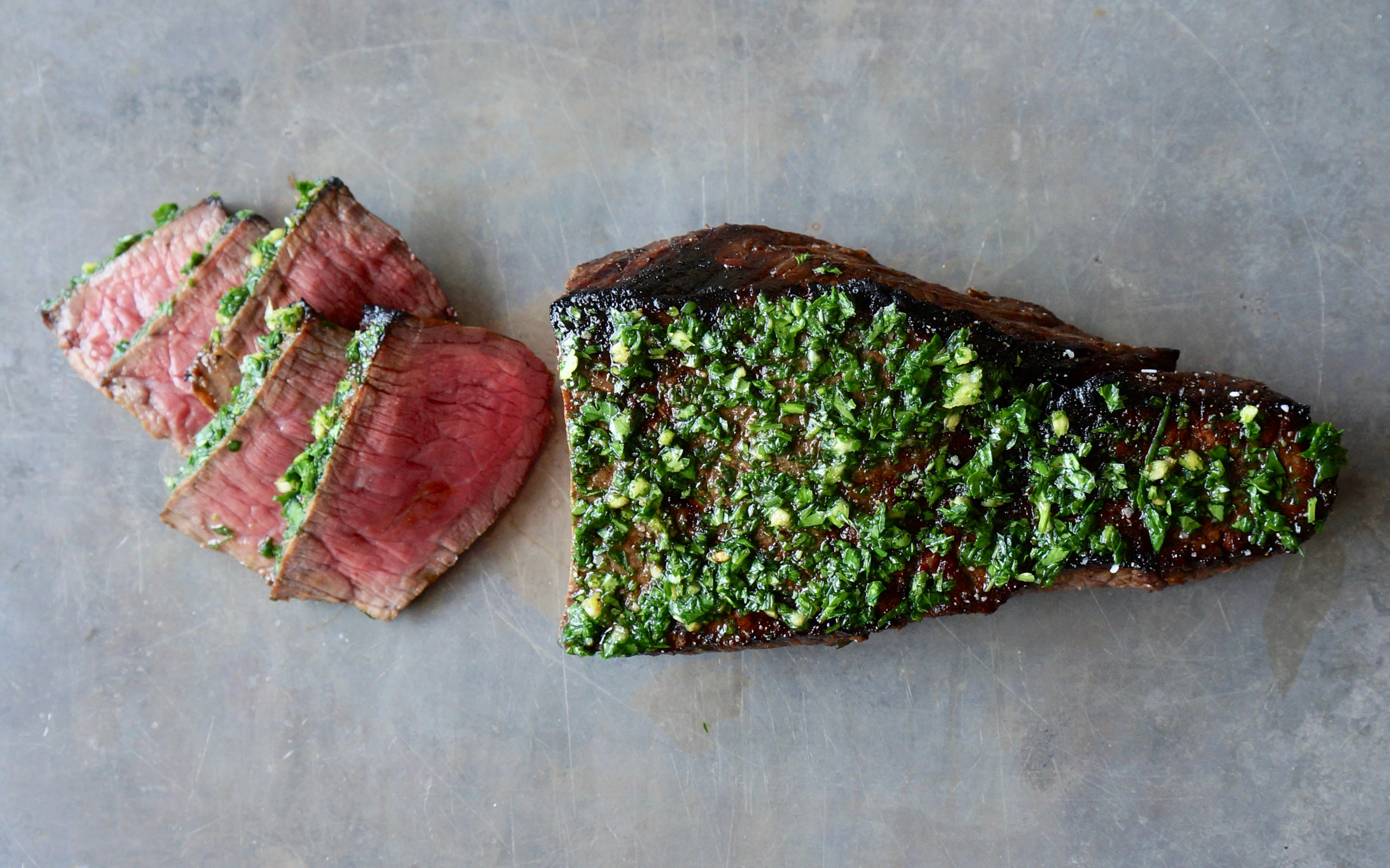 Parsley-Garlic-London-Broil-Top-Round-Steak-Rebecca-Gordon-Editor-In-Chief Buttermilk-Lipstick-Culinary Entertaining Techniques-RebeccaGordon-Southern-Hostess-Pastry-Chef-Birmingham-Alabama