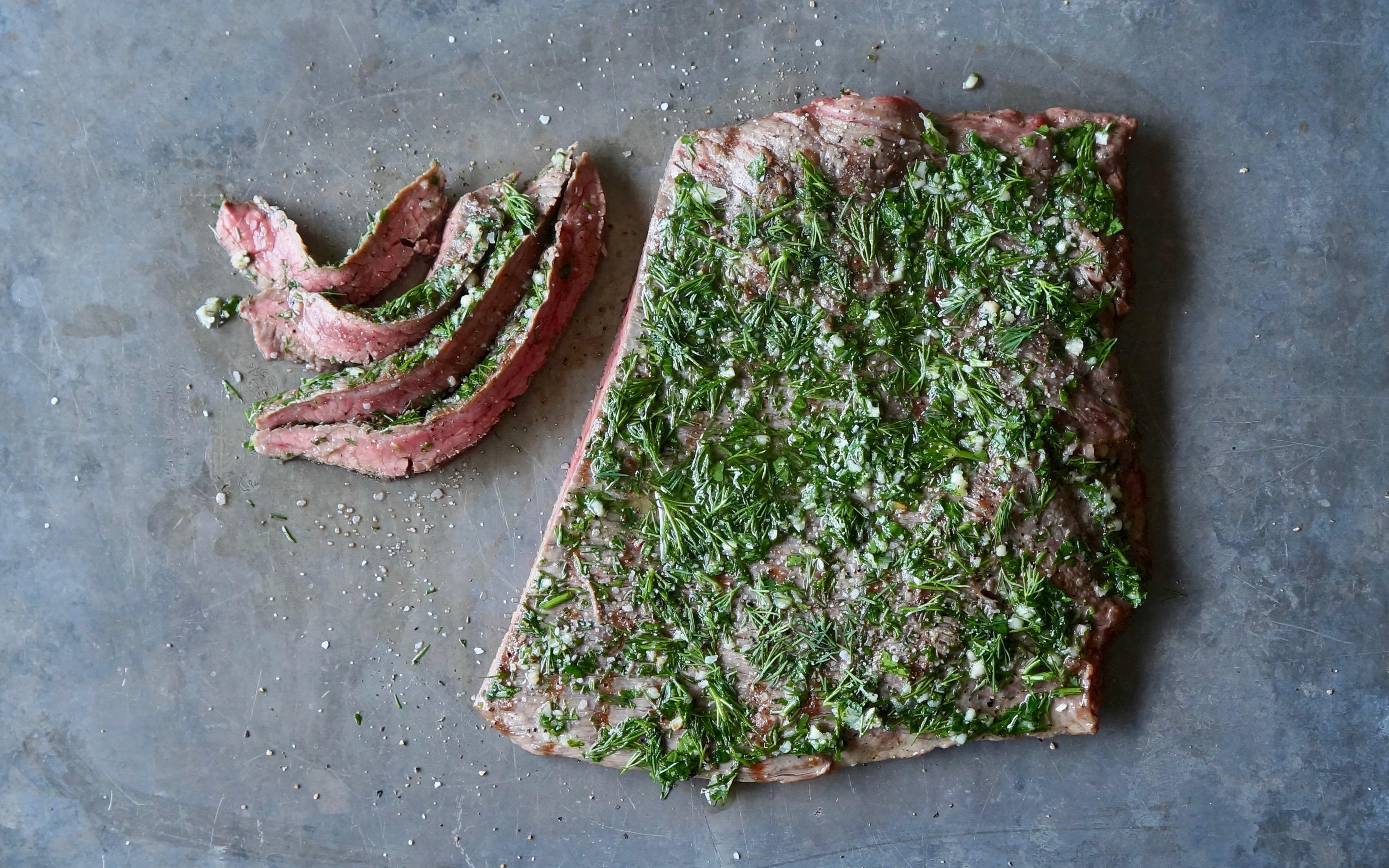 Fresh-Herb-Flank-Steak-Rebecca-Gordon-Editor-In-Chief-Buttermilk-Lipstick-Culinary-Entertaining-Techniques-Southern-Hostess-RebeccaGordon-Pastry-Chef-Buttermilk-Lipstick-RebeccaGordon-Pastry-Chef-Birmingham-Alabama