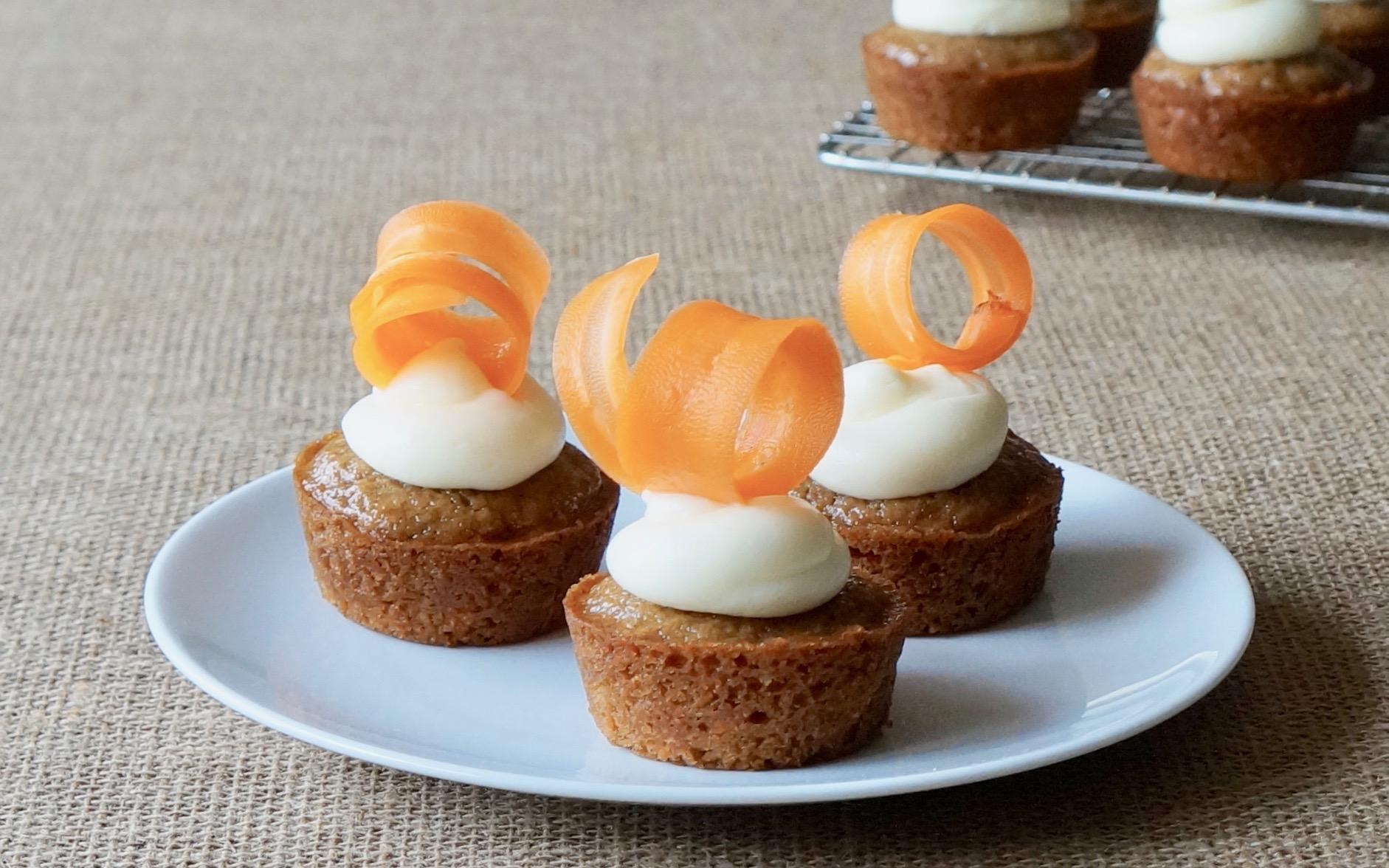 Buttermilk Carrot Cupcakes Rebecca Gordon Editor In Cheif Buttermilk Lipstick Culinary Entertaining Techniques Southern Hostess-RebeccaGordon-Pastry-Chef-Birmingham-Alabama