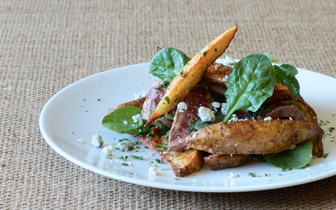 Chimichurri-Steak-Potato-Salad-Rebecca-Gordon-Publisher-Buttermilk-Lipstick-Culinary-Entertaining-Techniques-Southern-Hostess-RebeccaGordon-Pastry-Chef-Birmingham-Alabama