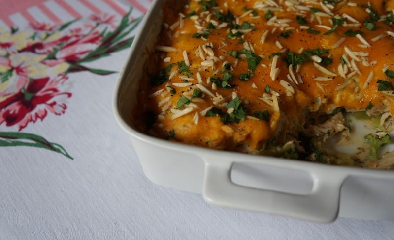 Southern Chicken Divan Rebecca Gordon Buttermilk Lipstick entertaining ideas party tips table top recipes