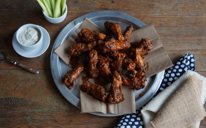 Chipotole Buffalo Hot Wings Rebecca Gordon Buttermilk Lipstick Tailgating Recipes Southern Hostess