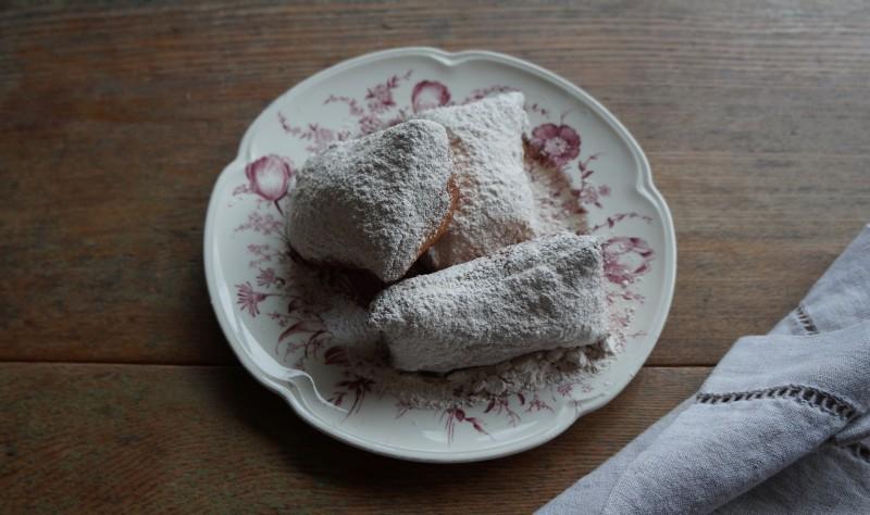 How To Make Buttermilk Beignets rebeccagordon buttermilklipstick tailgating recipes mardi gras New Orleans
