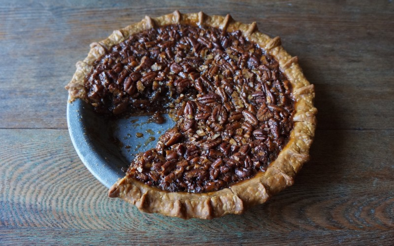 Karo Syrup Pecan Pie HowTo rebeccagordon buttermilklipstick christmas thanksgiving dessert