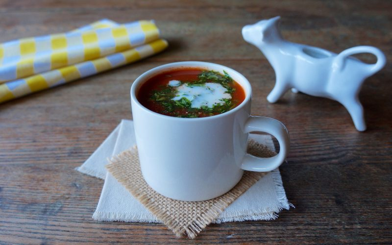 Classic Tomato Soup Dairy Creamy RebeccaGordon ButtermilkLipstick Tailgate Party Expert Easy Entertaining Football