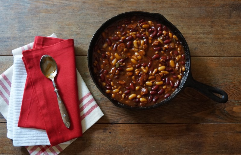 Gameday Bourbon Molasses Baked Beans Rebecca Gordon Buttermilk Lipstick Tailgating Recipes Southern Hostess Lifestyle Expert
