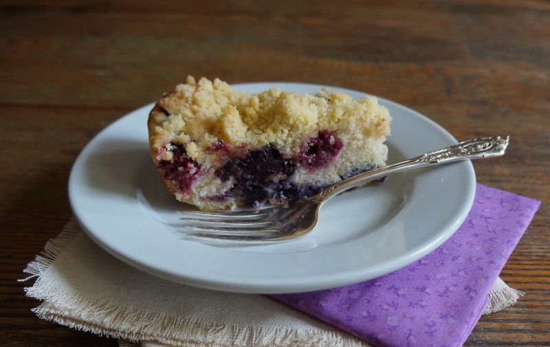 What Is A Buckle Coffeecake Cake Fresh blueberries Blackberries RebeccaGordon ButtermilkLipstick Southern Recipe Hostess