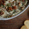 Lemon-Ricotta Artichoke Dip Pecans Rebecca Gordon Buttermilk Lipstick Tailgating Recipes southern hostess