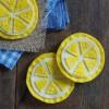 How To Make Lemon Slice Felt Coasters rebeccagordon buttermilklipstick southern entertaining ideas outdoor living tailgate food hostess
