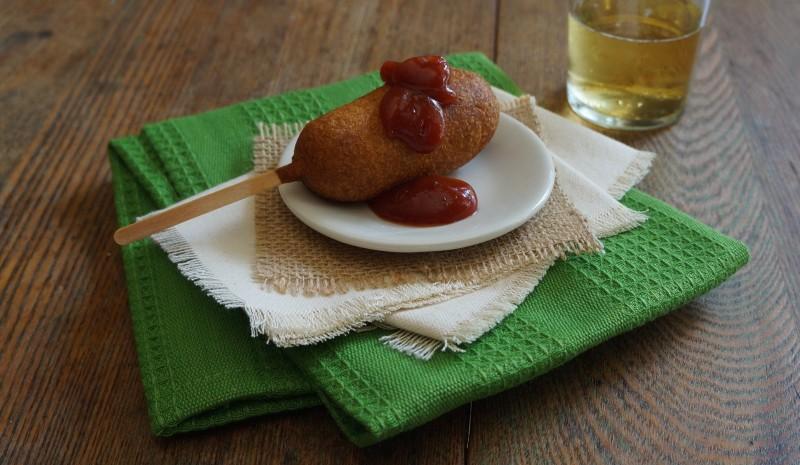 Cajun Corn Dogs Cajun Ketchup How To Fry Corn Dogs rebeccagordon buttermilklipstick tailgating recipes hostess ideas tips