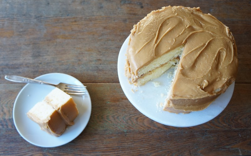 Southern Caramel Cake rebeccagordon buttermilklipstick tailgating recipes southern hostess