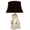 foo dog lamp