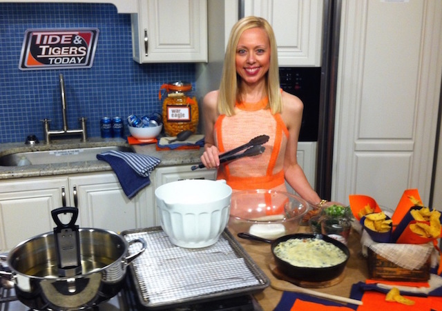 Tide & Tigers Today Tailgating RebeccaGordon Southern Game day hostess