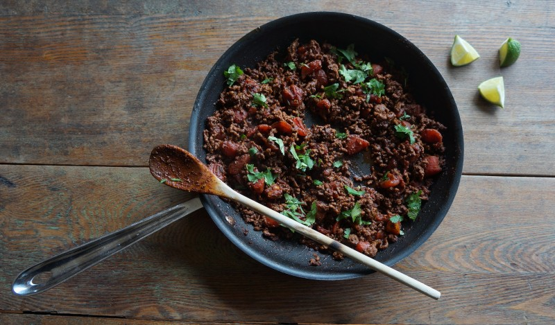 Homestyle Taco Dinner Beef RebeccaGordon ButtermilkLipstick Tailgating Recipes