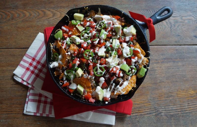 Double-Decker Nachos RebeccaGordon ButtermilkLipstick Tailgate Party Recipes Southern Hostess Football Food Snacks Tailgate Party