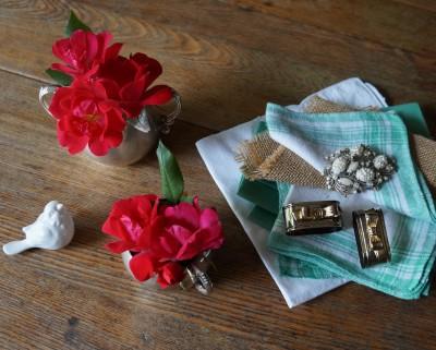 Siver & Gold Table ideas rebecca gordon buttermilk lipstick entertaining southern recipes