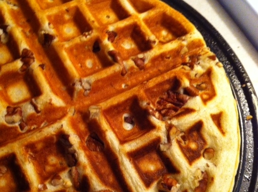 Banana Bread Buttermilk Waffles Southern Recipes Hostess